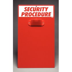 Brady - IC322E - Procedure Centers and Clipboards, Brady Security Information Center (Each)