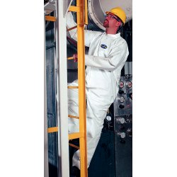 Kimberly-Clark - 44337 - Hooded Disposable Coveralls with Elastic Cuff, White, 4XL, Microporous Film Laminate