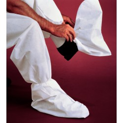 "Kimberly-Clark - 44491 - Universal Boot Covers, Slip Resistant Sole: No, Waterproof: No, 15"" Height"