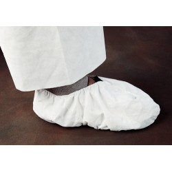 Kimberly-Clark - 44492 - M/L Shoe Covers, Slip Resistant Sole: No, Waterproof: No, 5-1/4 Height