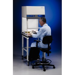 Labconco - 3970421 - 4'' Purifier Vertical Clean Bench with UV Light and Protection Panel