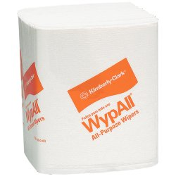 "Kimberly-Clark - 05770 - Wypall WypAll L40 Professional Towels - 12"" x 23"" - White - Absorbent, Versatile, Strong, Soft, Portable - For Industry, Face, Hand, Health Club, Manufacturing, School - 45 Sheets Per Box - 540 / Carton"