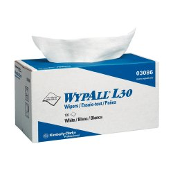 Kimberly-Clark - 05830 - Wypall L30 Wipers Prot Jr White 6/150
