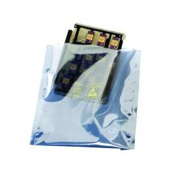 3M - 10078 - Transparent Metal-In Static Shielding Bag - Open Top (7 x 8), 100/Pkg.