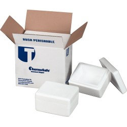 Sonoco ThermoSafe - 121210LB4 - SHIPPER EPS 12X12X10 INCH PL36 (Pallet of 36)