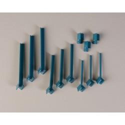 Bel-Art - 189330021 - Drying Rack, Benchtop, 1tier, 2side, Nonelec