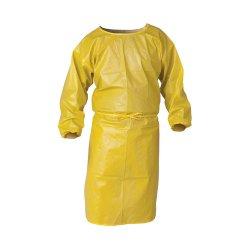 "Kimberly-Clark - 09829 - Kleenguard A70 Smock 44""yel Chem Pro"