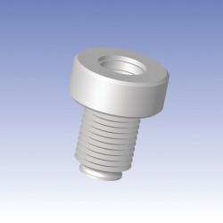 Ace Glass - 13290-130 - PTFE ADAP #15 20-400 VIAL (Each)