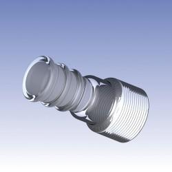 Ace Glass - 13290-34 - 24/40 #15 GLASS EVAP ADAP (Each)