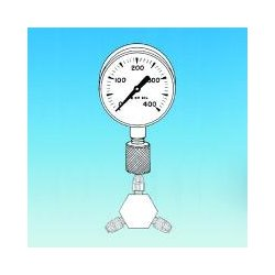 Ace Glass - 13385-35 - Brass Pressure Gauge C (each)