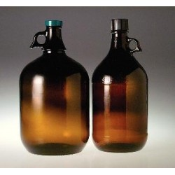 Berlin Packaging - GLC-06771 - 128OZ AMBER JUG 6X128OZ 128OZ AMBER JUG 6X128OZ (Case of 6)
