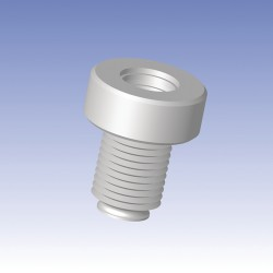 Ace Glass - 13290-136 - ADAPTER PTFE #25 24-410 VIAL (Each)