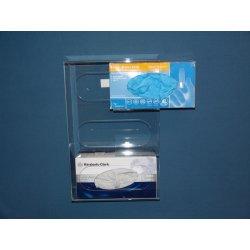 Mitchell Plastics - Mgss-3000 - Holder 3 Glovebox Stnls Steel (each)