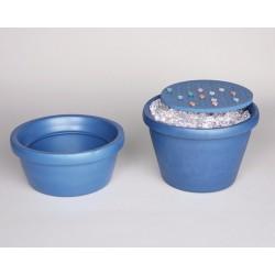 Bel-Art - 188482002 - Ice Bucket, W/lid, 2.5l, Black, 1 Ea