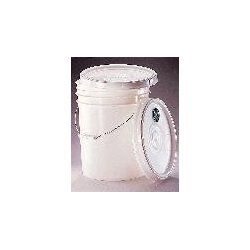 Berlin Packaging - 240125 - PAIL 1GAL NO LID HDPE WT CS100 (Case of 100)