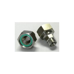 Julabo - 8890049 - ADAPTER G1 1/4IN FEM TO NPT 1/2IN MA PK2 (Pack of 2)