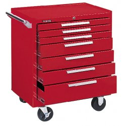Kennedy - 297LXR - ROLLER CABINET 7DRW RED (Each)