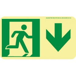 National Marker - 50f-2sn-r - Sign Exit Right Flex. (each)