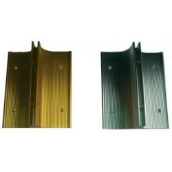 National Marker - 721-603 - WALL BRACKET SILVER 3IN. (Each)