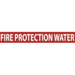 National Marker - A1107r - Pipemarker Fire Prtctn Pk25 (pack Of 25)