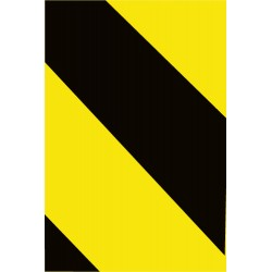 National Marker - RPS1Y - NMC 1 X 360 Yellow Reflective Safety Tape, ( Roll )