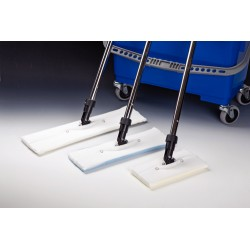 Micronova - C3A-02 - Accessories for Slimline Mop and Bucket Systems Hang-On Basket, Stainless Steel (Each)