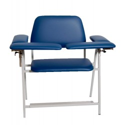 Med-care - 12cutxblue - Phlebotomy Chair Up Tl X-wd Bl (each)