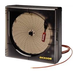 Dickson - KT6P1 - Dickson KT621 6 Temperature Chart Recorder