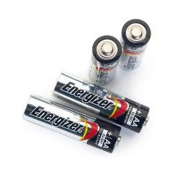 Hach - 1938004 - BATTERY ALKALINE AA 1.5V PK/4 (Pack of 4)