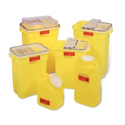 Becton Dickinson - 305603 - SHARPS COLL 9 GAL CHEMO HINGE. (Case of 8)