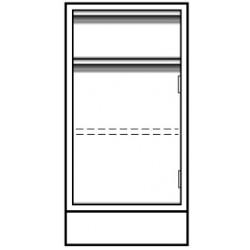 Vwr - Cfe-2402-12l-each - Vwr Base Unit 1dr/dwr 18x22x36 (each)