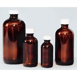 Thermo Scientific - 112-01a - Bottle Round Ambe 1l(32oz)cs12 Bottle Round Ambe 1l(32oz)cs12 (case Of 12)