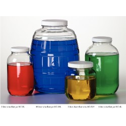 Thermo Scientific - 117-4L - JAR WIDE MOUTH L1A 4000ML CS4 JAR WIDE MOUTH L1A 4000ML CS4 (Case of 4)
