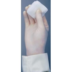 Cardinal Health - 2D7011PF - Triflex Sterile Powder-Free Pairs Vinyl Examination Gloves Triflex Sterile PF Vinyl Examination Gloves Ambi (Box of 50)