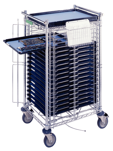 Metro (InterMetro) / Emerson - CBNTC20MSOL2 - SmartTray System Front-Load Cart with 20 SmartTrays and 20 Economy Tray at Sears.com