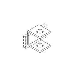 Chatsworth - 11408-001 - Chatsworth 11408-001 Runway Support Bracket - Bracket - Gold - 1 Pack