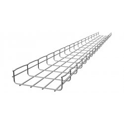 Cablofil - CF105200EZ - 10 ft. Steel Wire Mesh Cable Tray, 44 lb. per 6 ft. Section Capacity