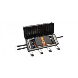 Corning - UCAO-05-24 - UCAO Splice Closure, 5 tray shelves with two UCAO-ST-02 splice trays