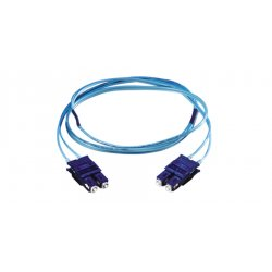 Hubbell - DFPCSTSTC3MM - Hubbell Fiber Optic Duplex Patch Cable - ST Male Network - ST Male Network - 9.84ft