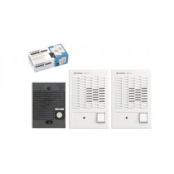 Aiphone - C-123LW - Aiphone C-123LW Dual master chime com set, 1 door, 2 master, DKA-2S ( 10008 )
