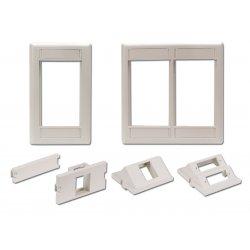 Hubbell - IMF1TI - iStation Modular Plate Frame, Single Gang, Telco Ivory