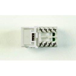 Systimax - MGS400-361 - 1-port Mod Jack 110 8w8p Utp T568a/b Cat6 Ip5 Gigaspeed 700206675 Violet