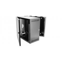 Chatsworth - 11890-736 - Chatsworth CUBE-iT PLUS Wall - Black - 150 lb x Maximum Weight Capacity