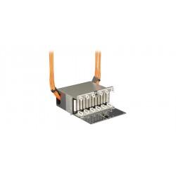Corning - Pch-01u - 12/48-f Rack-mt Enclosure 19 1u Empty, Add 2 Cch Panels Or Modules, Pretium Cch