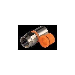 Belden / CDT - SNS6PLA - Belden Snap-N-Seal Antenna Connector - 1 x F Connector Male - Tin