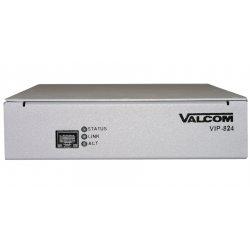 Valcom - VIP-824 - Valcom VIP-824 VoIP Gateway - 1 x RJ-45 - 4 x FXS - 4 x FXO - 1U High