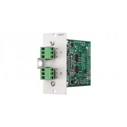 Toa Electronics - D-001t - Input Module, Two Mic/line Inputs W/dsp Removable Terminal
