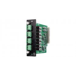TOA Electronics - D-971E - TOA Module - Four Balanced Line Outputs with Phoenix-Type Connectors