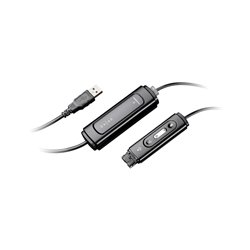 Plantronics - DA45 - Plantronics Headset Adapter - USB, Quick Disconnect