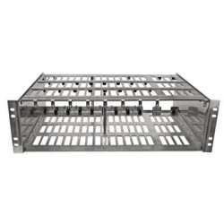 Blonder Tongue - 6,233.00 - Blonder Tongue Rack Chassis for up to 8 AQD/QTM/AQT Modules